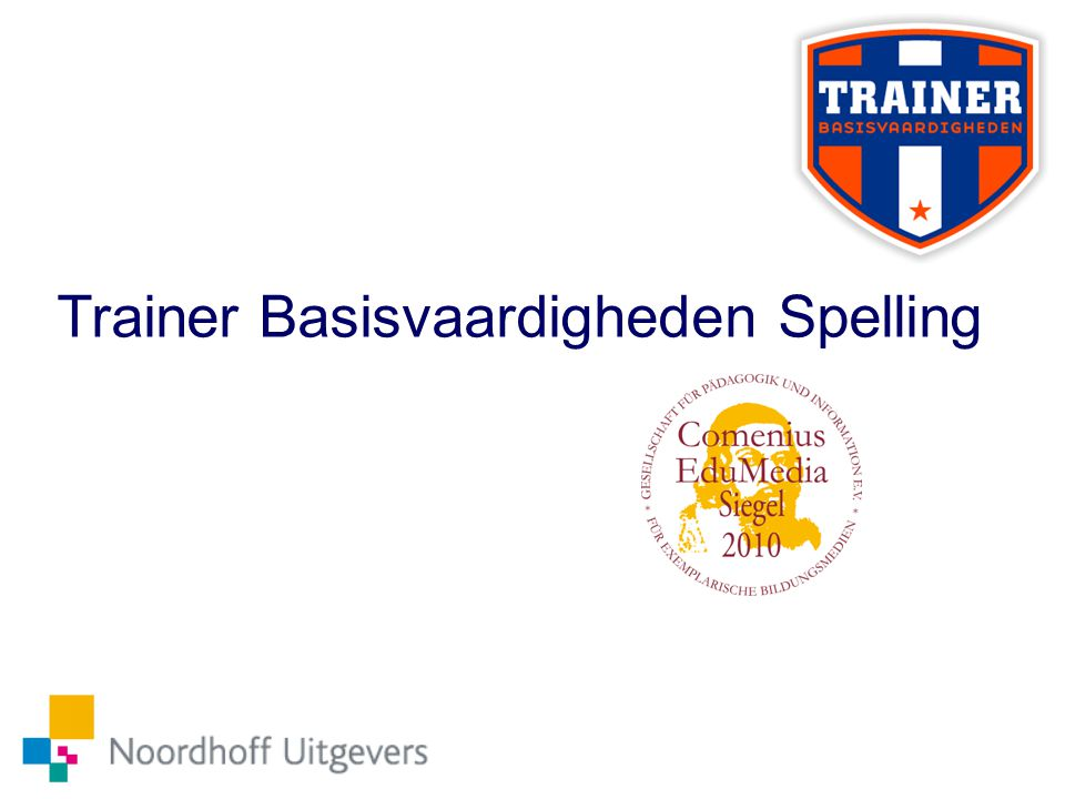 Trainer Basisvaardigheden Spelling