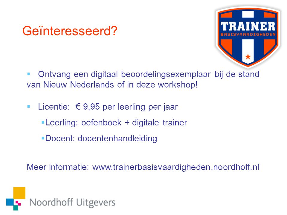 Geïnteresseerd Ontvang een digitaal beoordelingsexemplaar bij de stand van Nieuw Nederlands of in deze workshop!