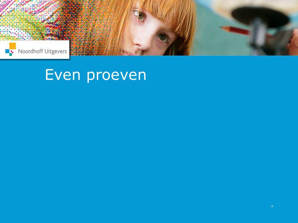 Even proeven