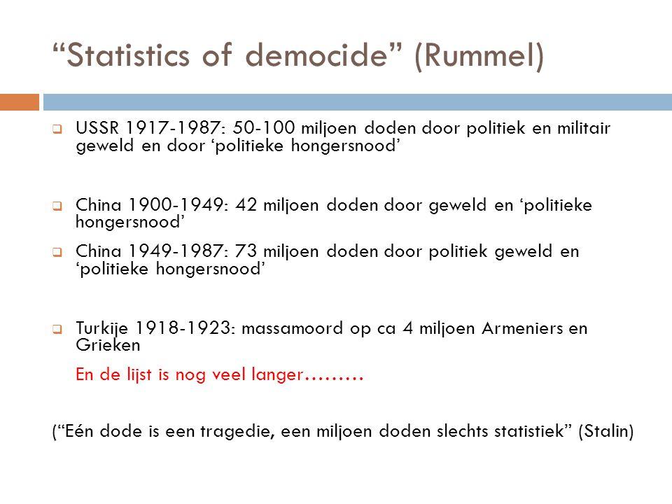 Statistics of democide (Rummel)