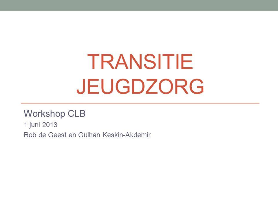 Workshop CLB 1 juni 2013 Rob de Geest en Gülhan Keskin-Akdemir