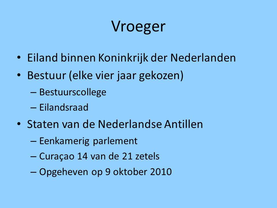 Vroeger Eiland binnen Koninkrijk der Nederlanden