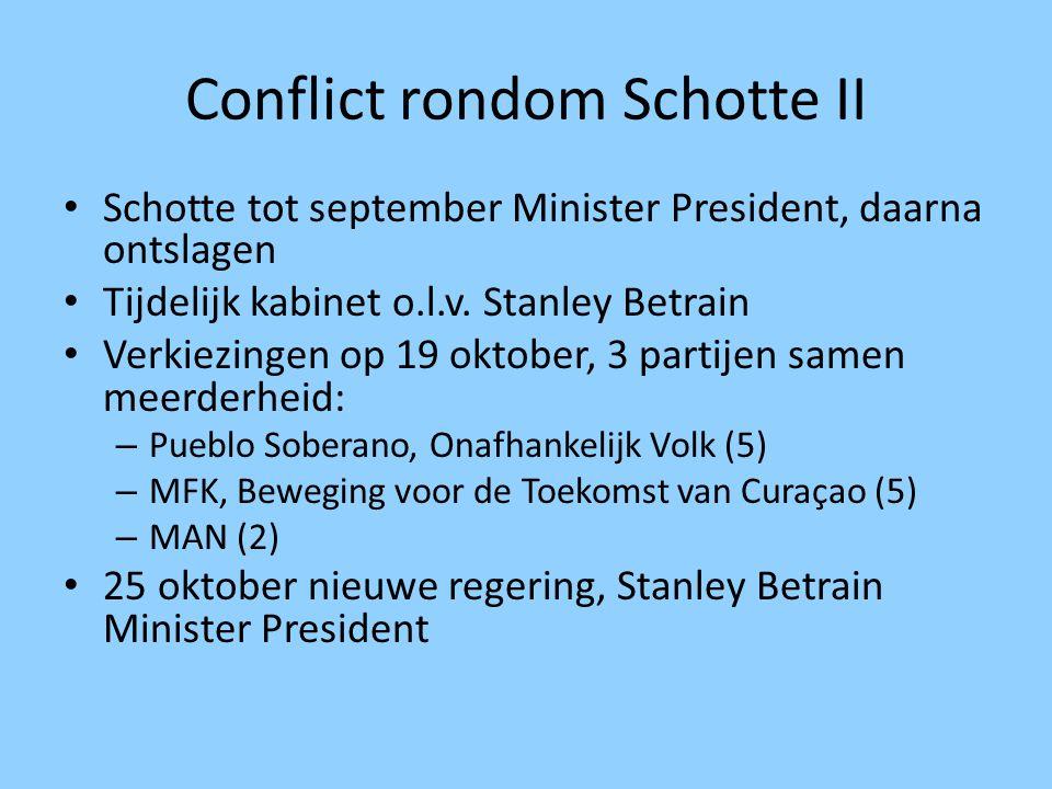 Conflict rondom Schotte II