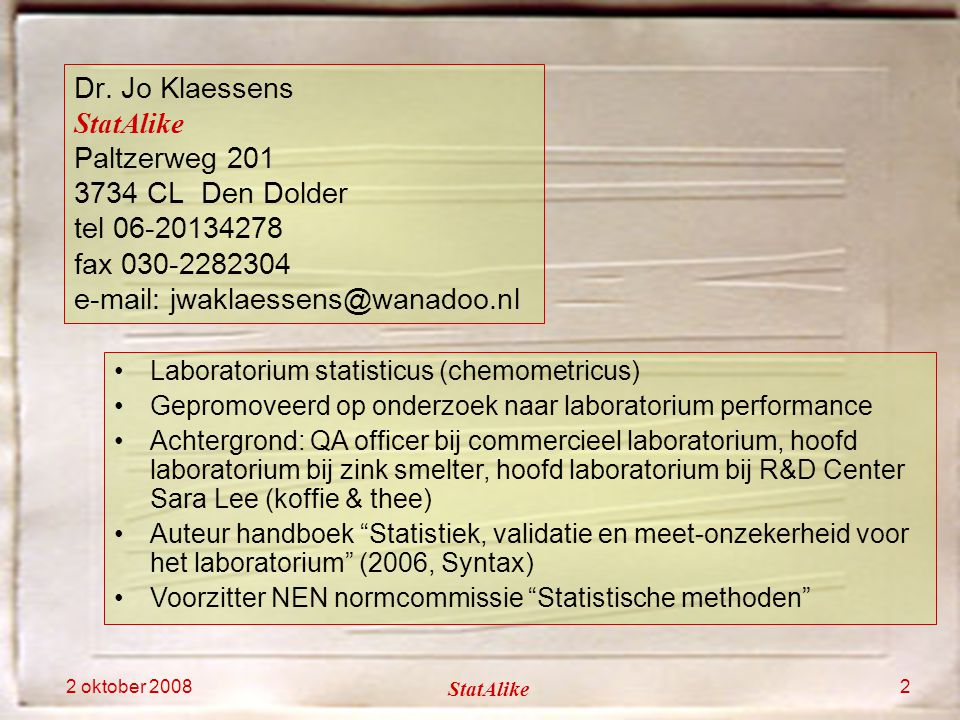 e-mail: jwaklaessens@wanadoo.nl
