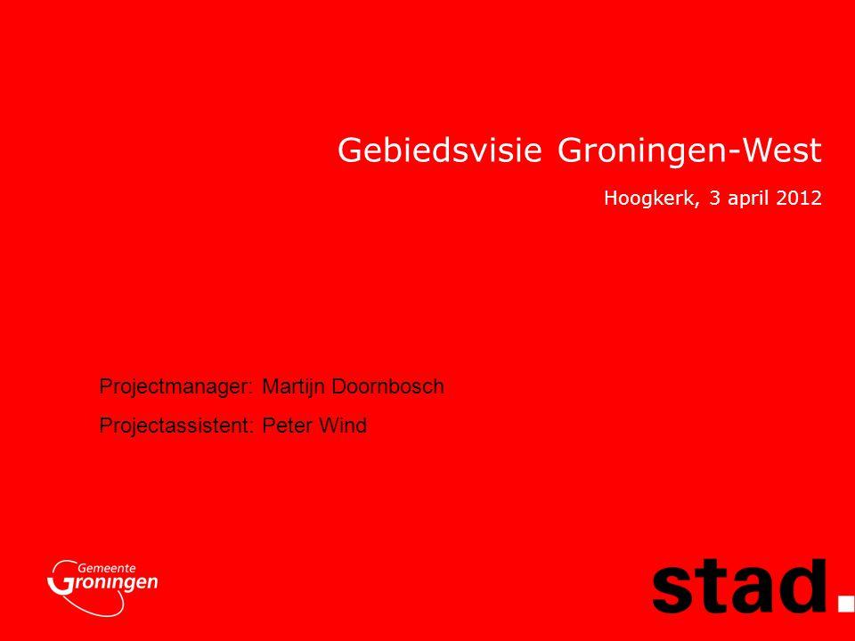 Gebiedsvisie Groningen-West