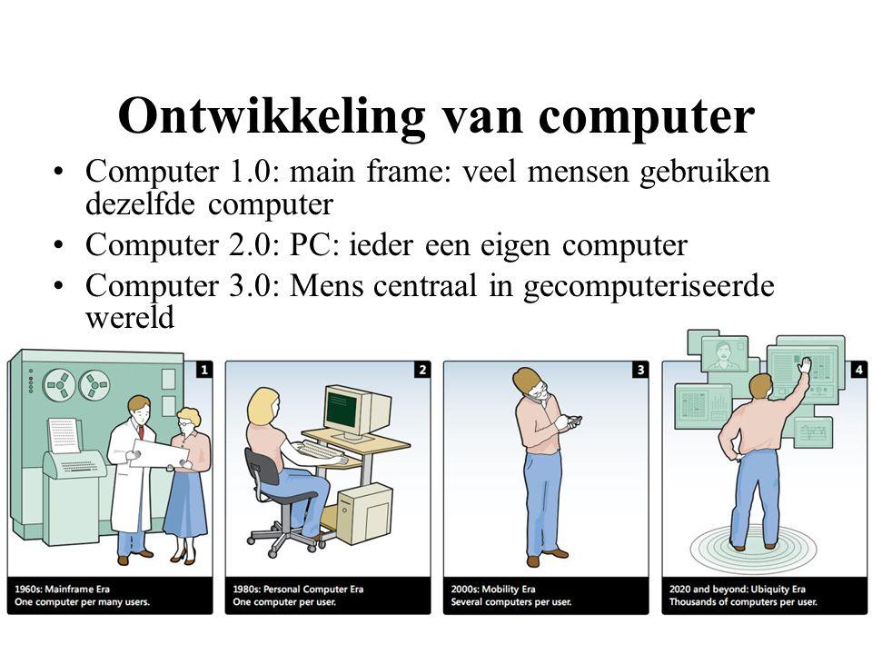 Ontwikkeling van computer