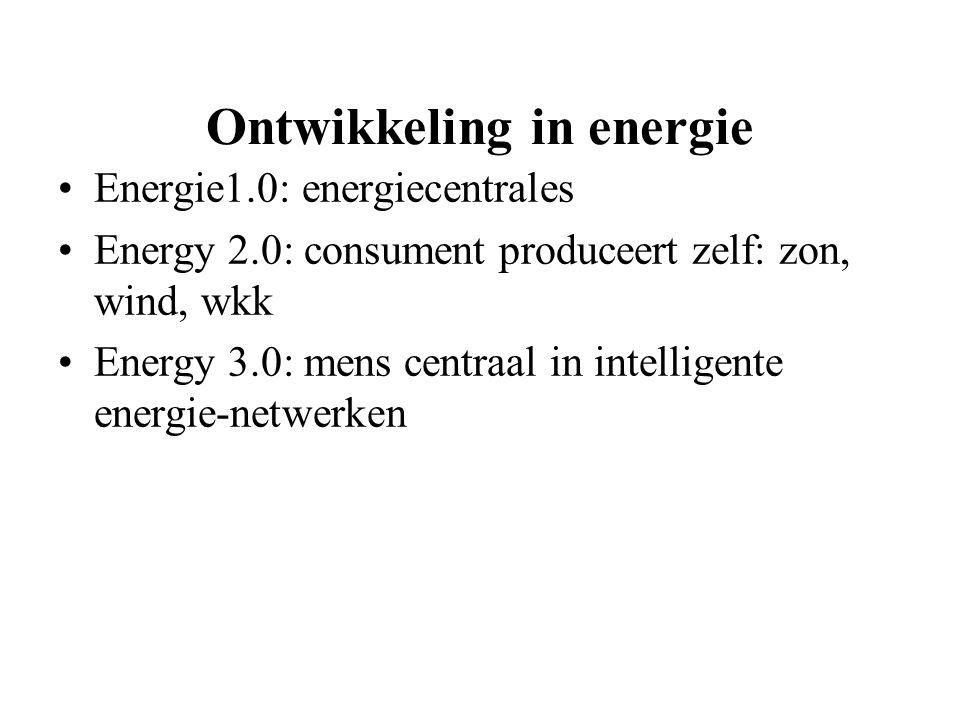 Ontwikkeling in energie