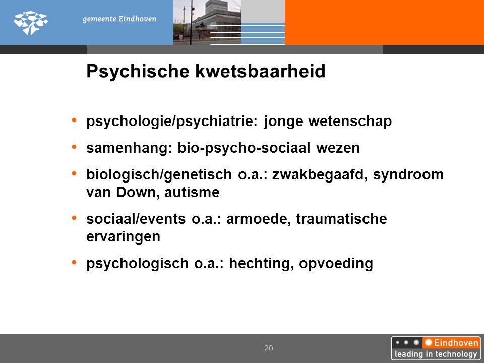 Psychische kwetsbaarheid