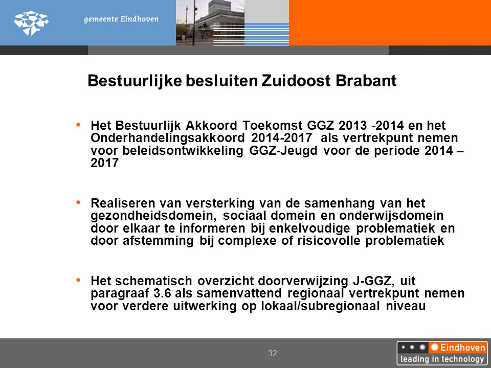 Bestuurlijke besluiten Zuidoost Brabant