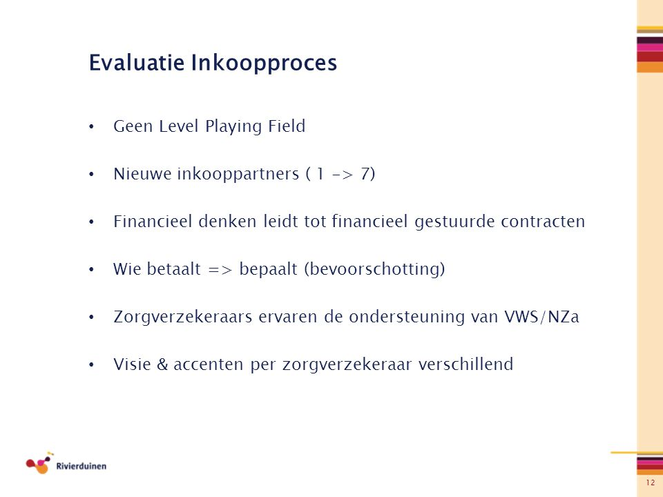 Evaluatie Inkoopproces