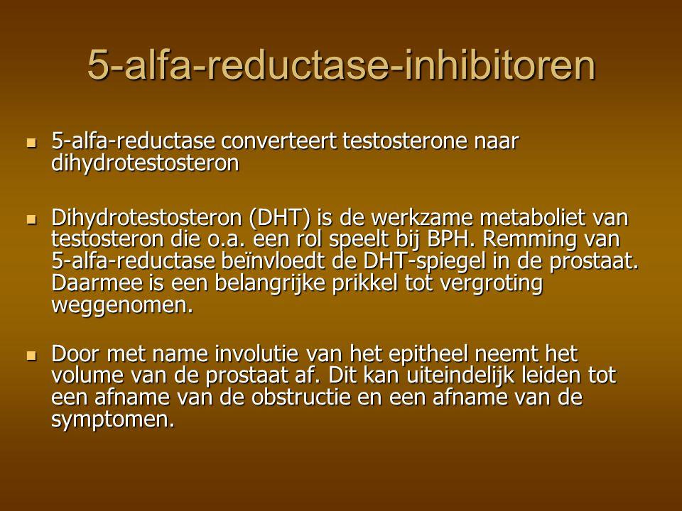 5-alfa-reductase-inhibitoren