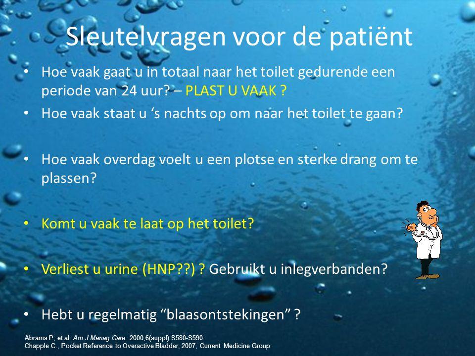 Sleutelvragen voor de patiënt