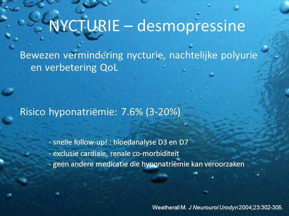 NYCTURIE – desmopressine