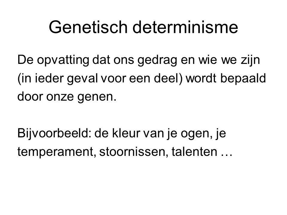 Genetisch determinisme