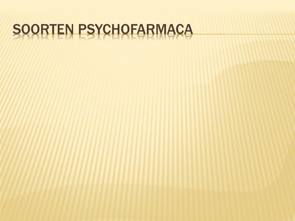 Soorten psychofarmaca