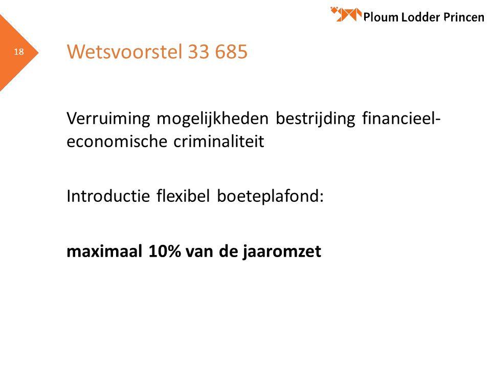 Wetsvoorstel 33 685