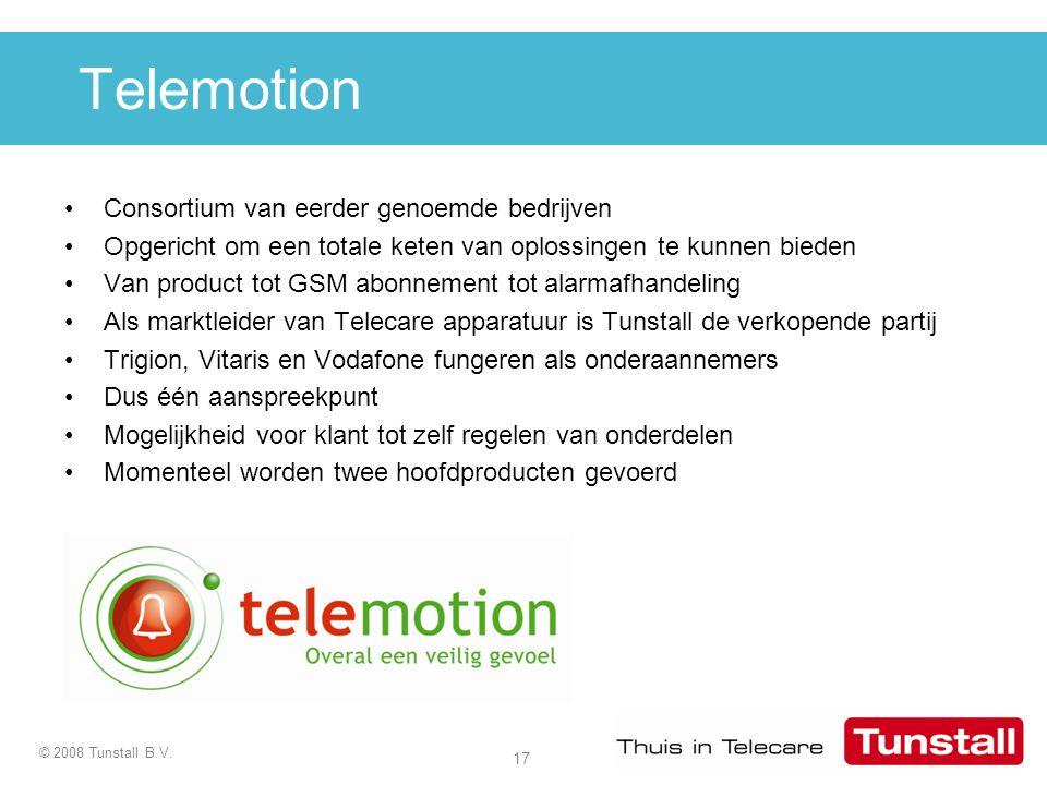 Telemotion Consortium van eerder genoemde bedrijven