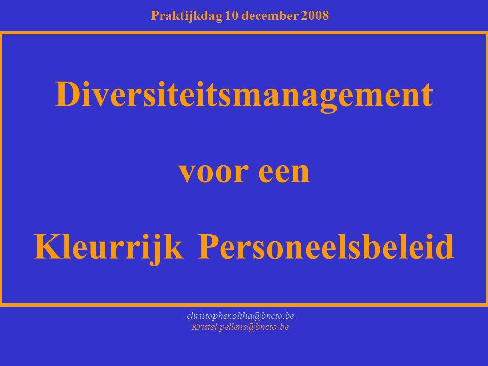 Diversiteitsmanagement voor een Kleurrijk Personeelsbeleid