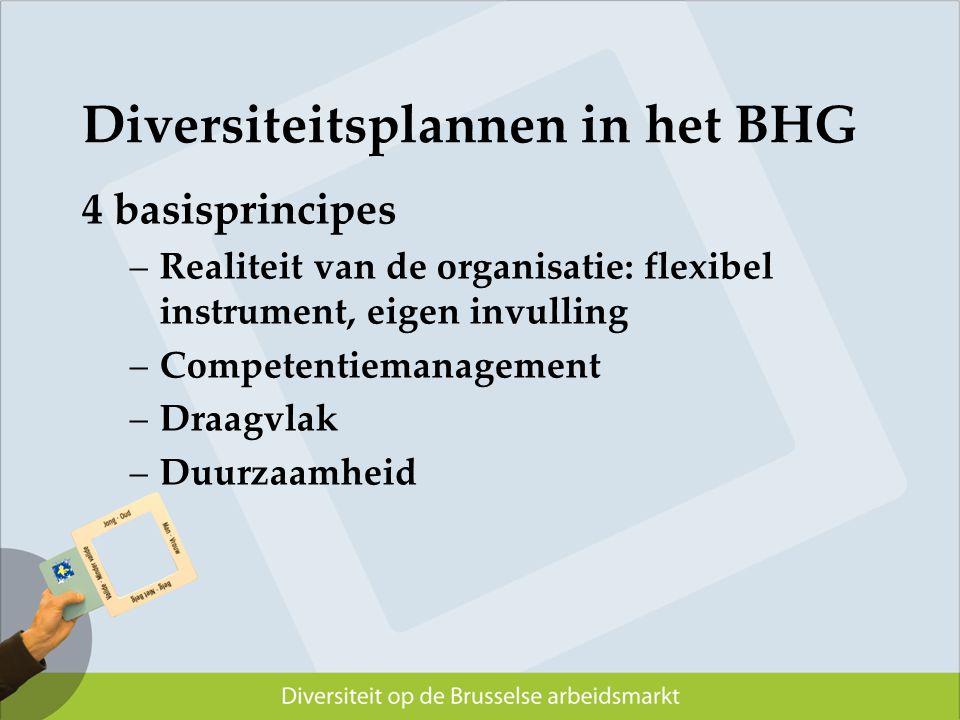 Diversiteitsplannen in het BHG