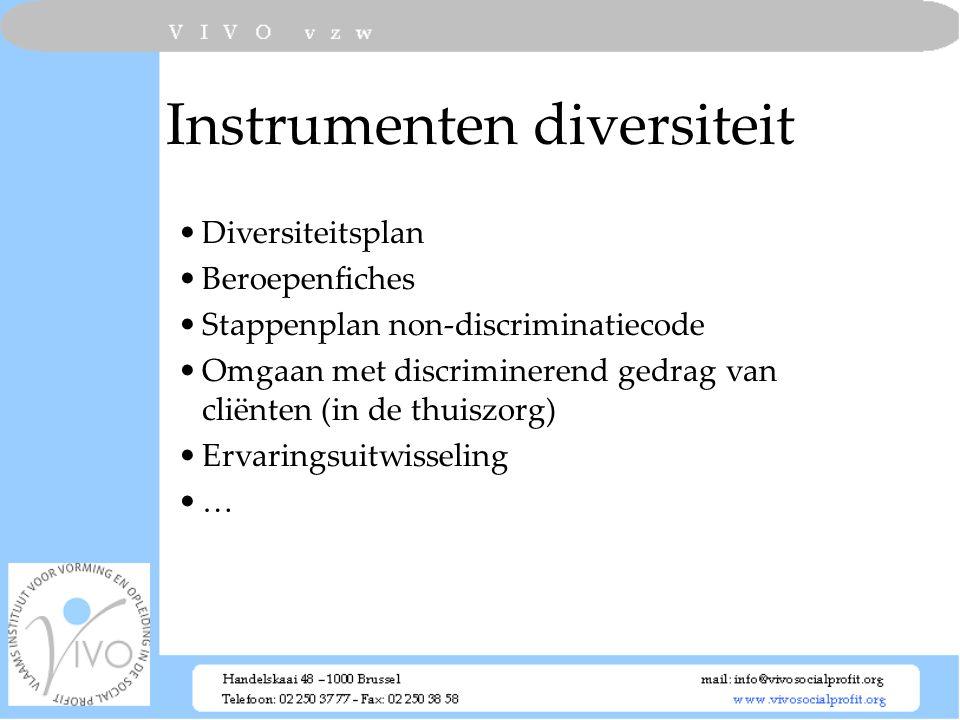 Instrumenten diversiteit
