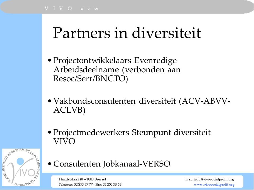 Partners in diversiteit