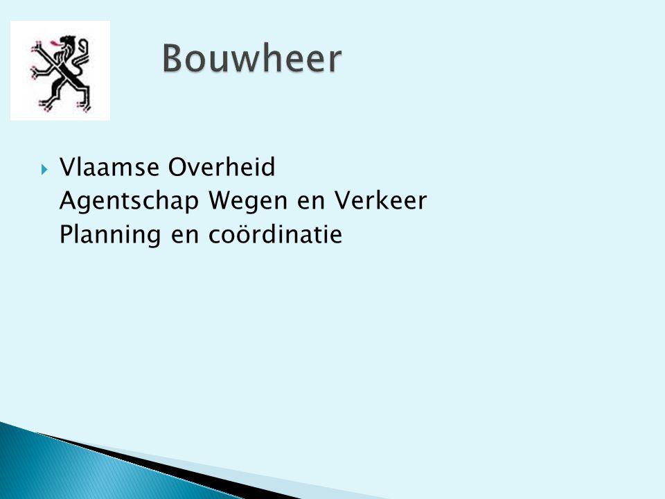 Bouwheer Vlaamse Overheid Agentschap Wegen en Verkeer
