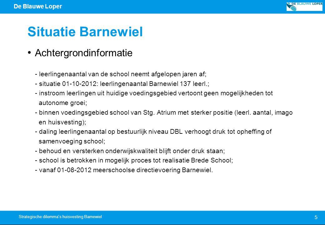 Situatie Barnewiel Achtergrondinformatie