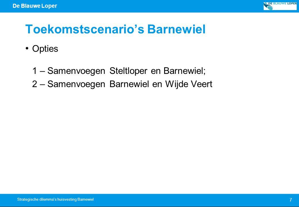 Toekomstscenario's Barnewiel