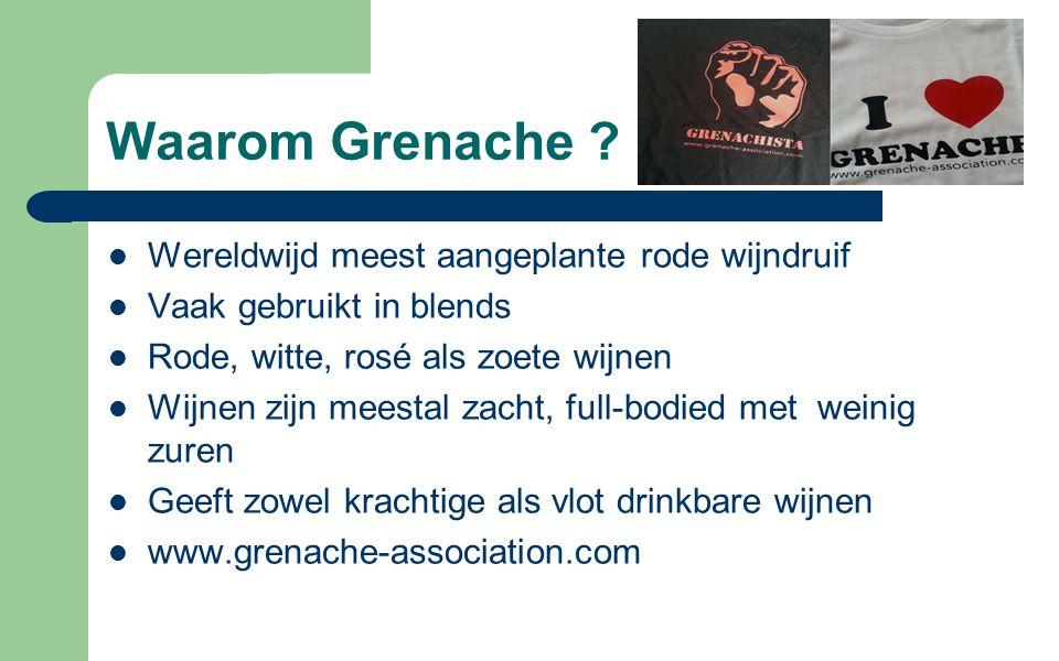 Waarom Grenache Wereldwijd meest aangeplante rode wijndruif