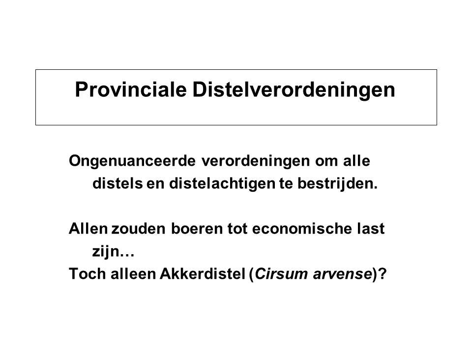 Provinciale Distelverordeningen