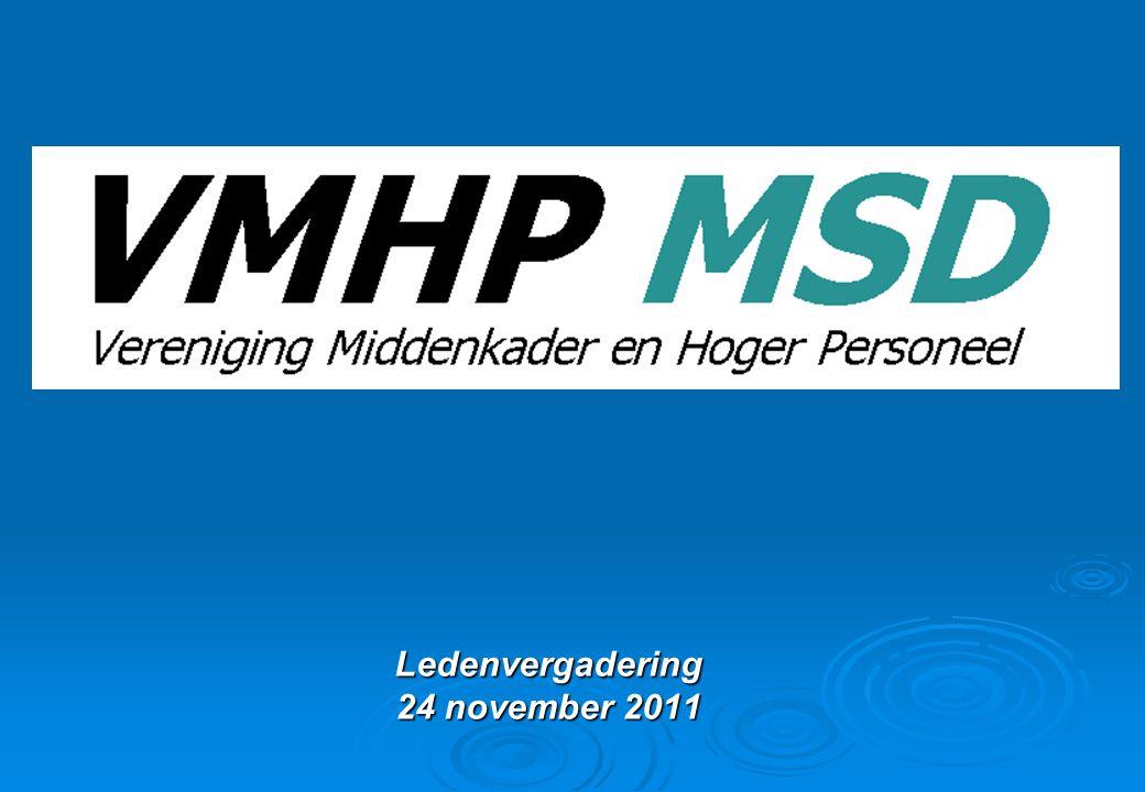 Ledenvergadering 24 november 2011