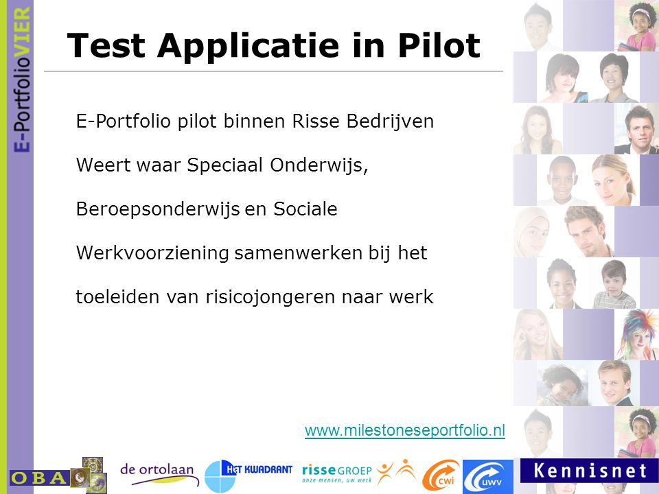 Test Applicatie in Pilot