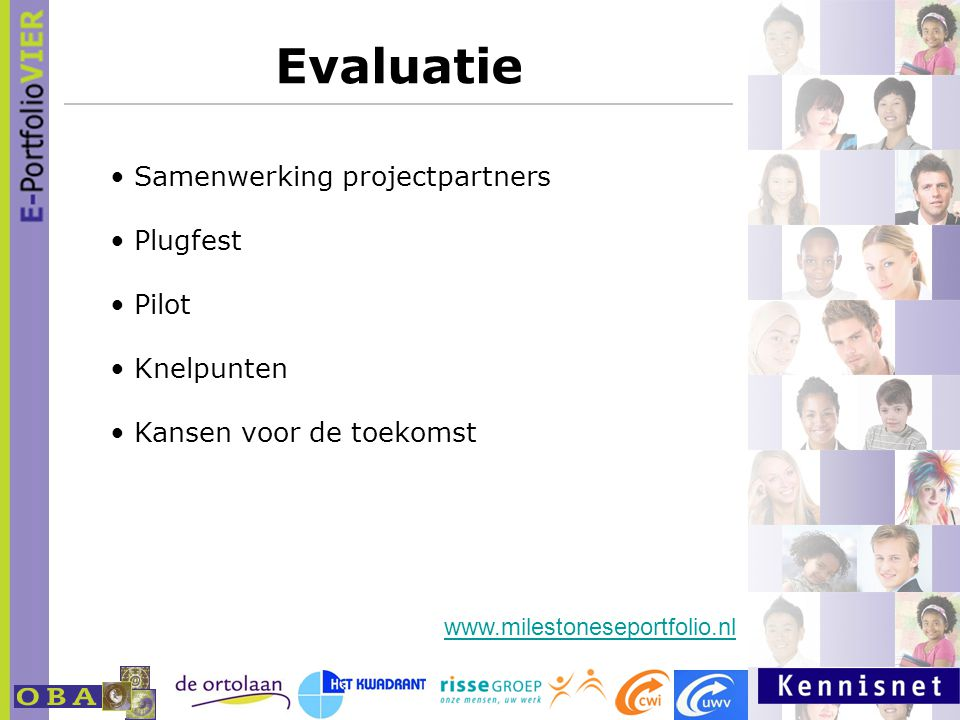 Evaluatie Samenwerking projectpartners Plugfest Pilot Knelpunten