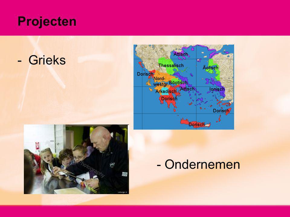 Projecten Grieks - Ondernemen