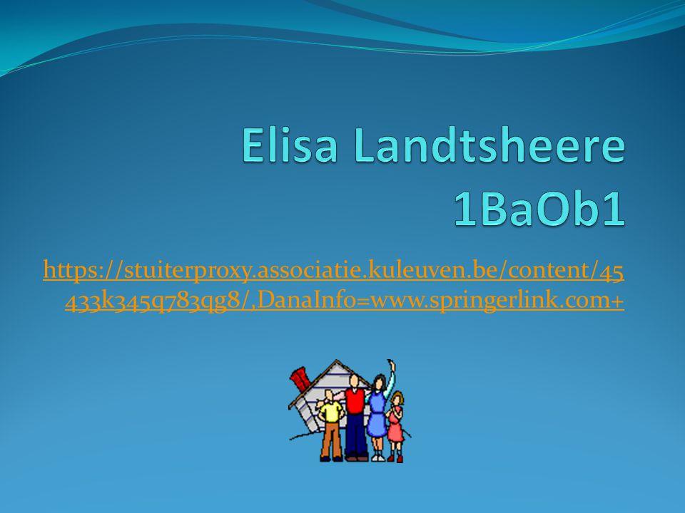 Elisa Landtsheere 1BaOb1
