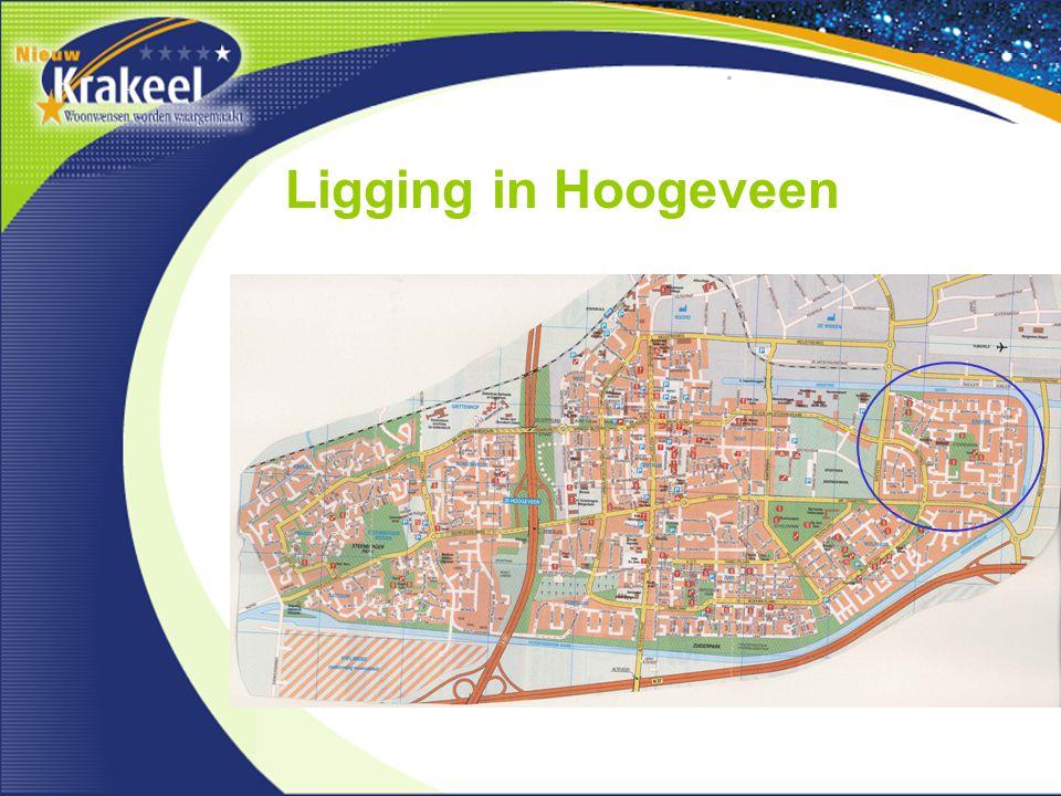 Ligging in Hoogeveen