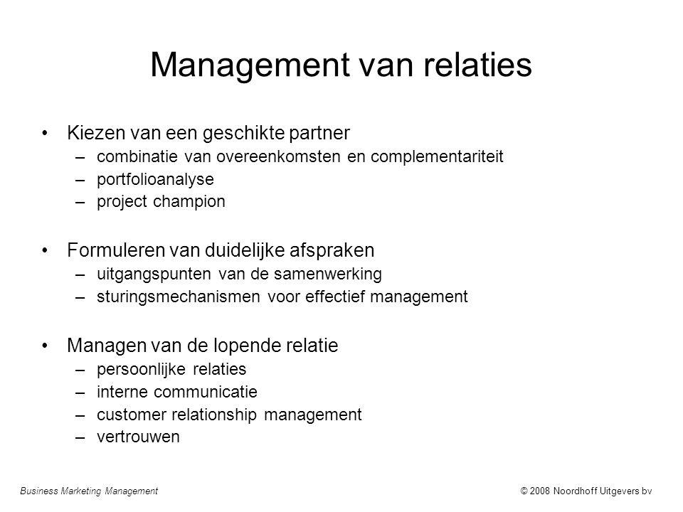 Management van relaties