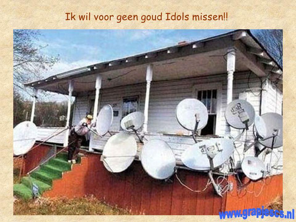 Ik wil voor geen goud Idols missen!!