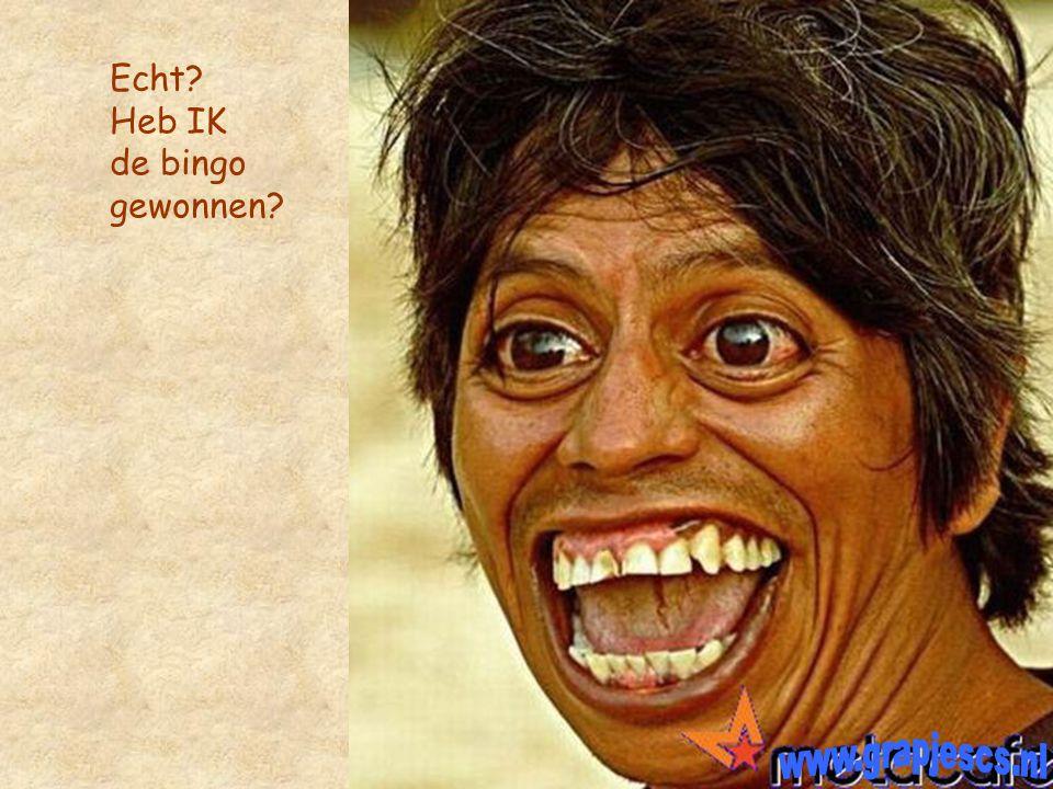 Echt Heb IK de bingo gewonnen www.grapjescs.nl