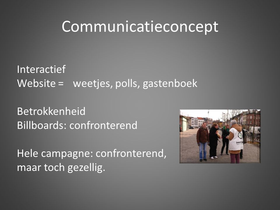 Communicatieconcept