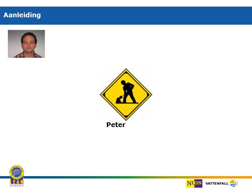 Aanleiding Peter Peter