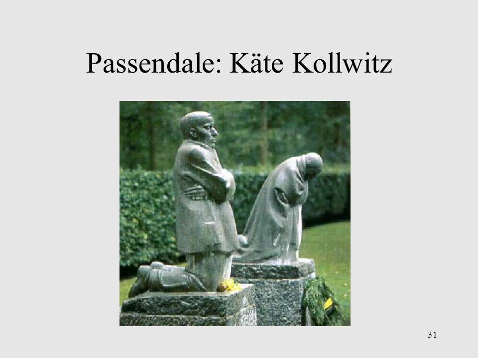 Passendale: Käte Kollwitz