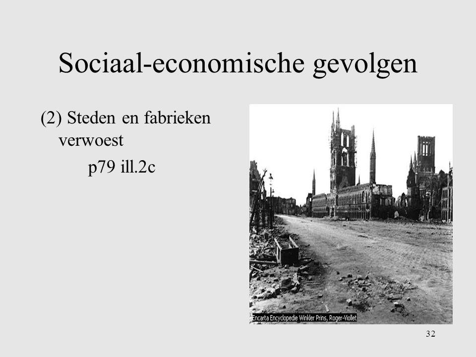 Sociaal-economische gevolgen