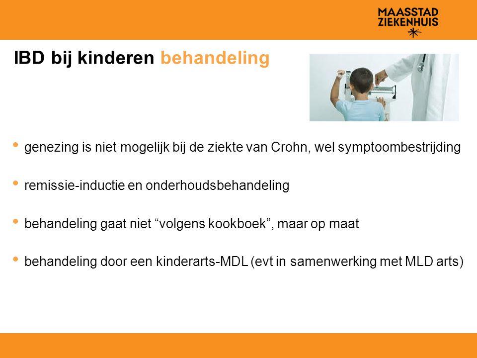 IBD bij kinderen behandeling