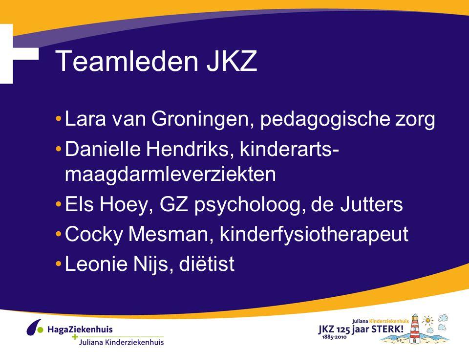 Teamleden JKZ Lara van Groningen, pedagogische zorg