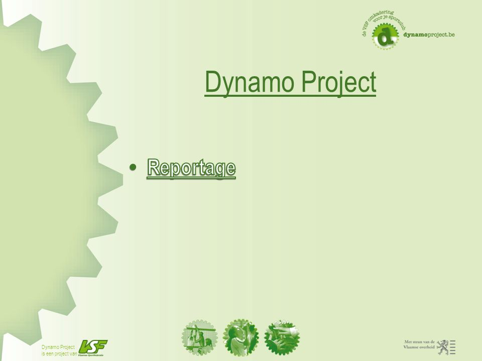 Dynamo Project Reportage