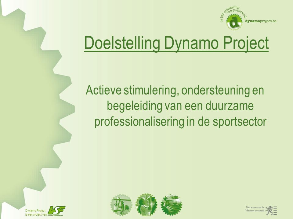 Doelstelling Dynamo Project