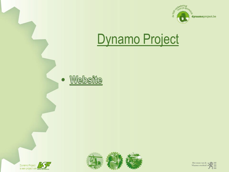 Dynamo Project Website