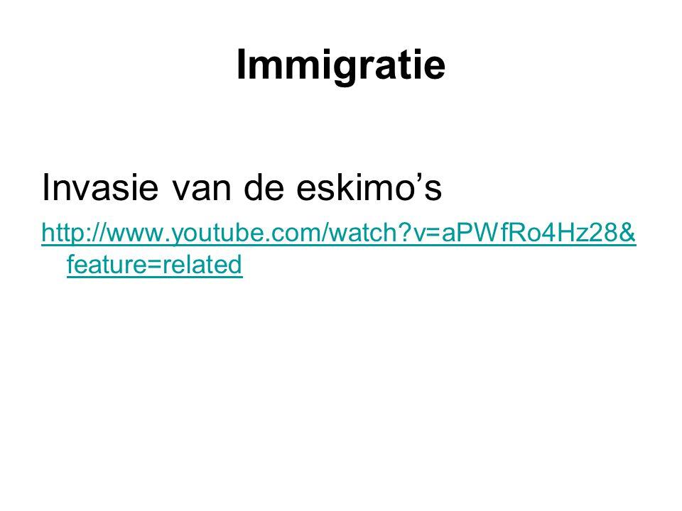 Immigratie Invasie van de eskimo's