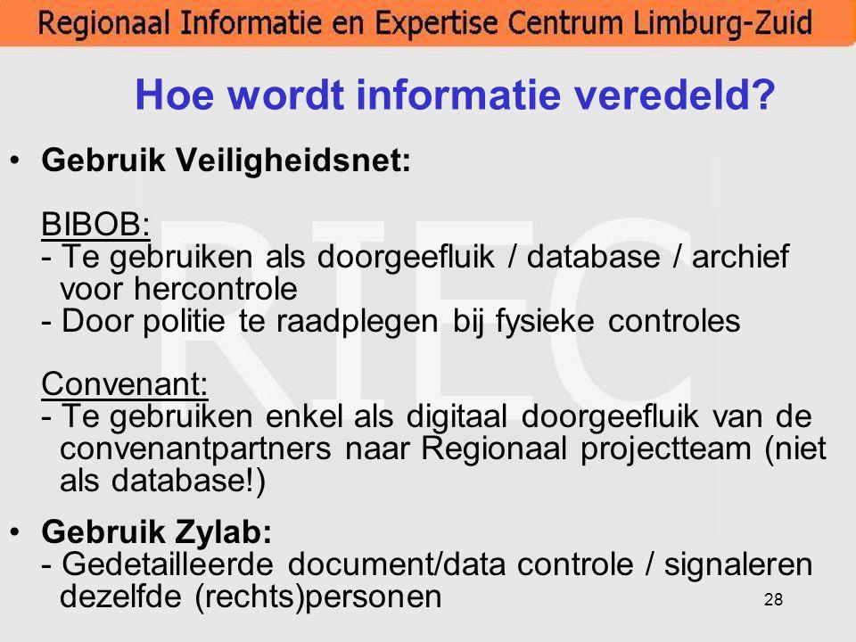 Hoe wordt informatie veredeld